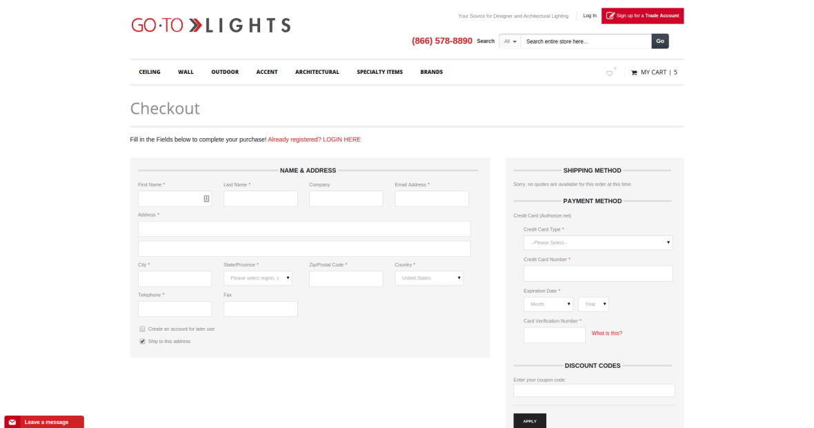 GoToLights_Checkout
