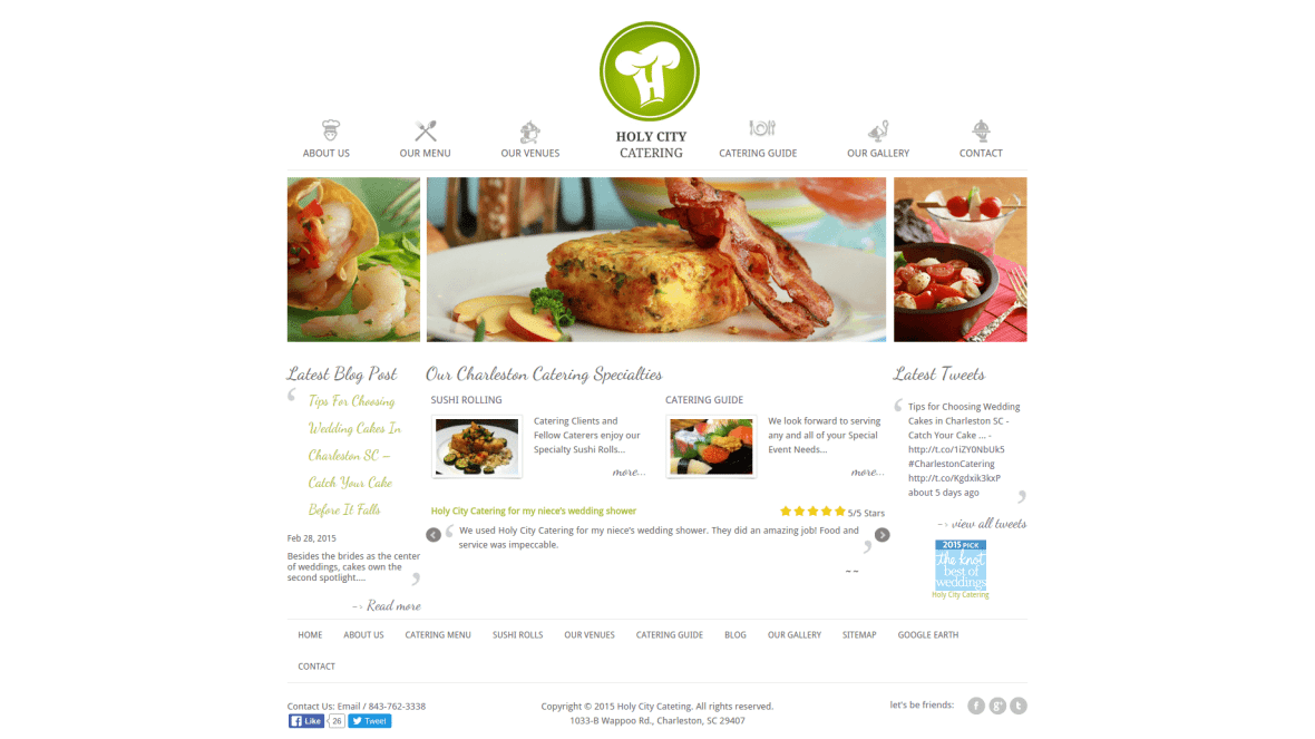 Homepage _of_HolyCityCatering
