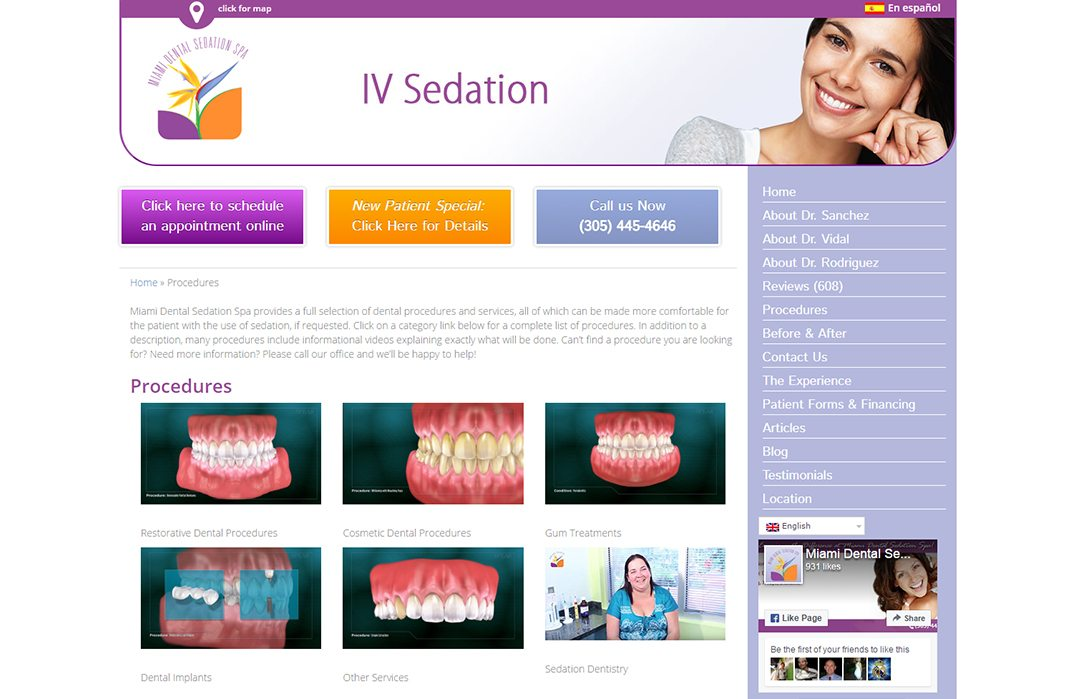 Miami Dental Sedation Spa_Procedures